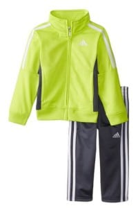 Adidas Little Boys' Impact Tricot Two-Piece Athletic Set