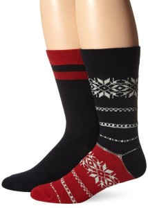 Ben Sherman Men's Keith Novelty Thick Crew Socks