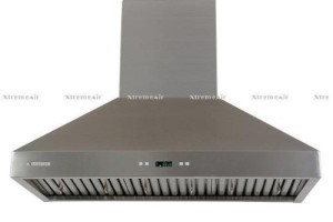 Non-Magnetic Stainless Steel Seamless Body, Wall Mount Range Hood