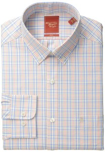 Original Penguin Men's Slim-Fit Tattersall Shirt