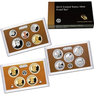 2012 United States 14-coin Proof Set - OGP box