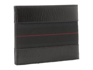 Salvatore Ferragamo Mens Revival II BiFold Leather Wallet