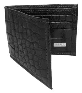 Sultan Genuine Alligator Men's Bifold Wallet