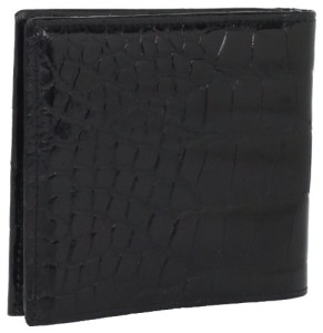Trafalgar Men's Trafalgar Alligator Hipster Wallet