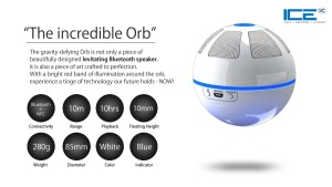 ICEORB Floating Bluetooth