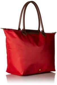 Longchamp Le Pliage Tote Shoulder Bag Large Red