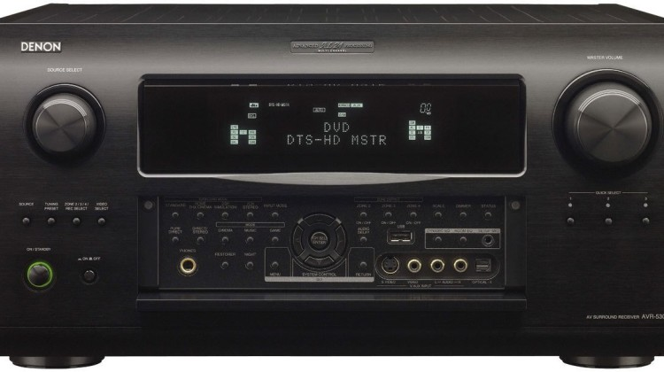 Denon AVR5308CI 7.1-Channel Multi-zone Network Streaming AV Receiver