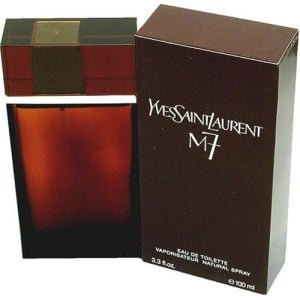 M7 by Yves Saint Laurent for Men. Eau De Toilette Spray 3.3 Oz.: