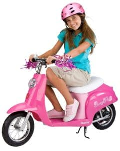 Razor Pocket Mod Miniature Euro Electric Scooter pink