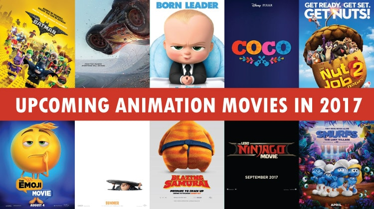 10 Animated movies (You'll Die to Watch) in 2017