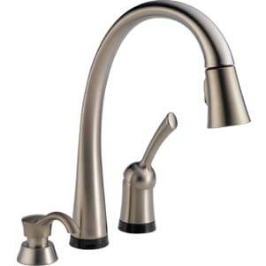 Delta 980T-SSSD-DST Pilar Single Handle Pull-Down Kitchen Faucet