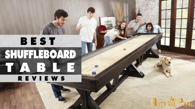 Recommended Best Shuffleboard Table Reviews Guide - Standard shuffleboard table
