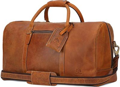 Leather-Travel-Duffel-Bag---Airplane-Underseat-Carry-On-Bags-By-Rustic-Town